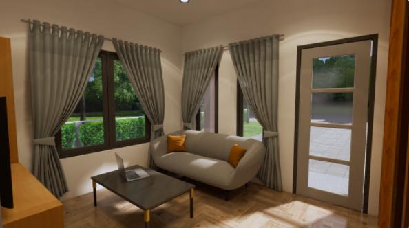 Loft Cottage - interior 01