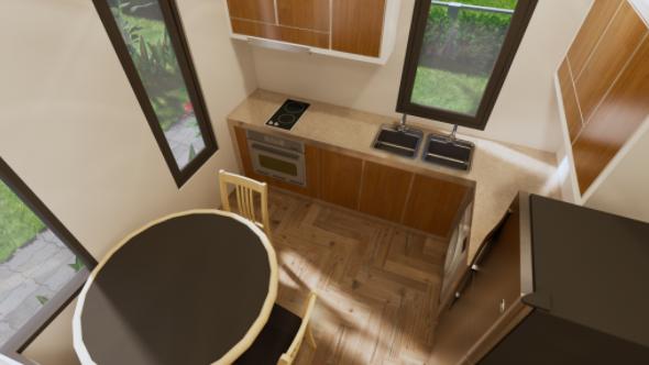 Loft Cottage - interior 02